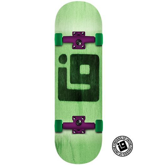 Fingerboard Completo Inove - Colors Verde