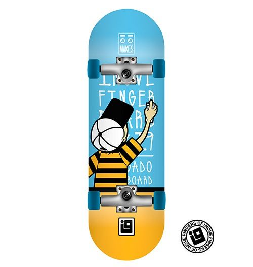 Fingerboard Completo Inove - Collab Makes