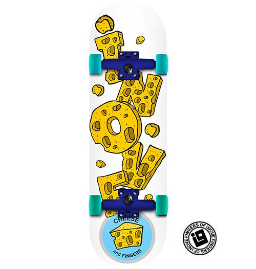 Fingerboard Completo Inove - Cheese and Fingers