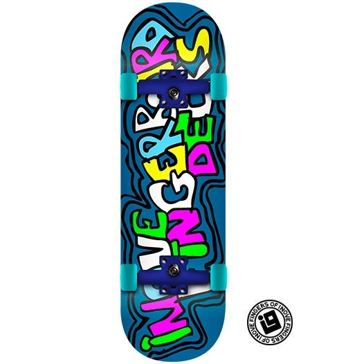 Fingerboard Completo Inove - Fun Brush