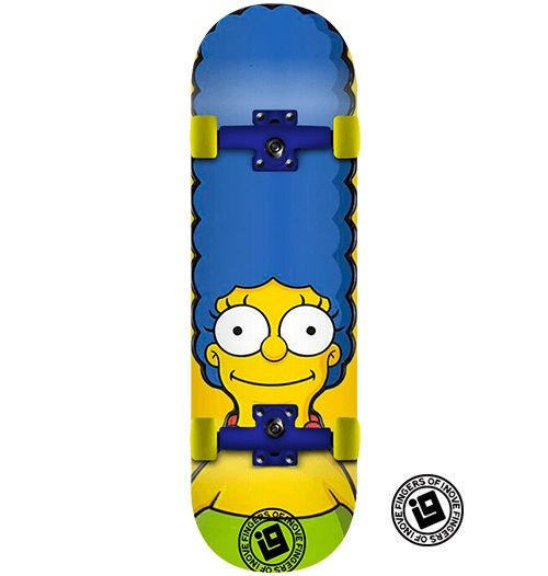 Fingerboard Completo Inove - Marge Simpsons