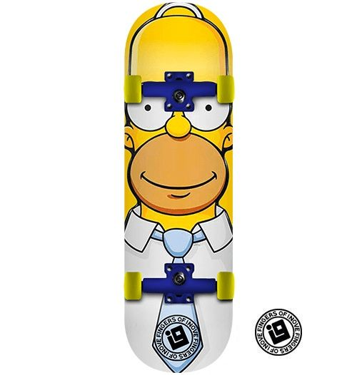 Fingerboard Completo Inove - Homer Simpsons
