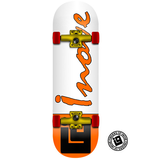 Fingerboard Completo Inove - Classic Orange