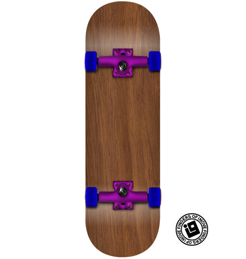 Fingerboard Completo Inove - Exotic #05