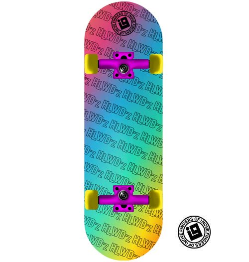 Fingerboard Completo Inove - Collab Hollywoodogz Color