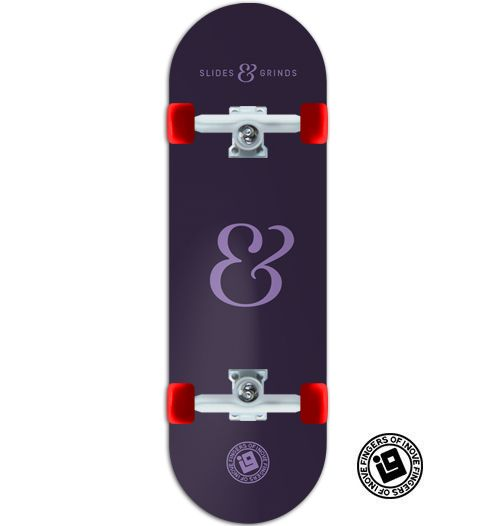 Fingerboard Completo Inove Premium - Collab Slides & Grinds Purple
