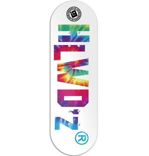 Deck Inove - Collab Hollywoodogz Logo Tie Dye