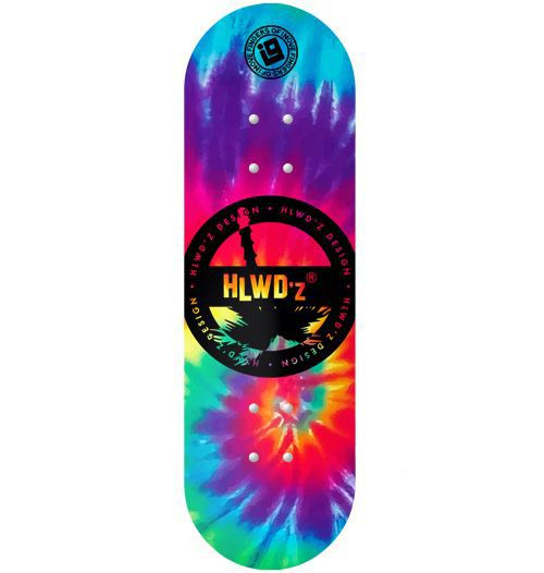 Deck Inove - Collab Hollywoodogz Tie Dye