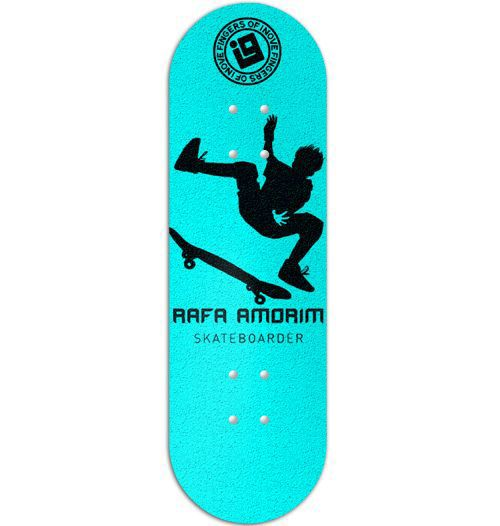 Deck Inove - Collab Rafa Amorim Light Blue