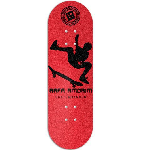 Deck Inove - Collab Rafa Amorim Red