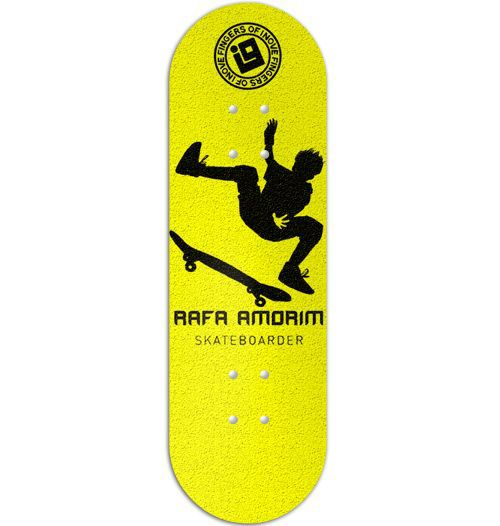Deck Inove - Collab Rafa Amorim Yellow