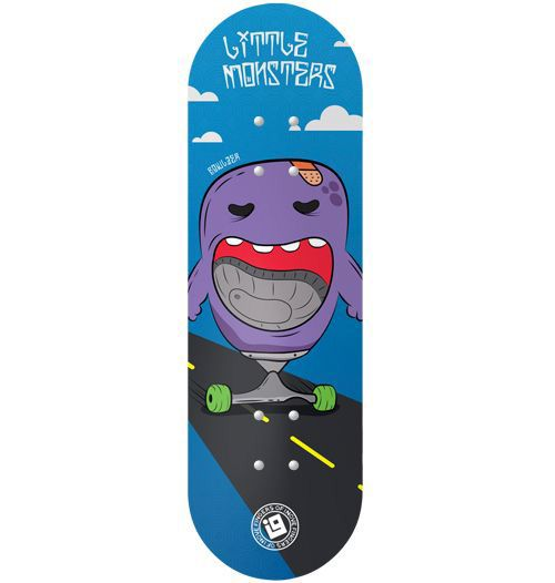 Deck Inove - Collab Mateus Freitas Little Monsters Bowlzer - 34mm