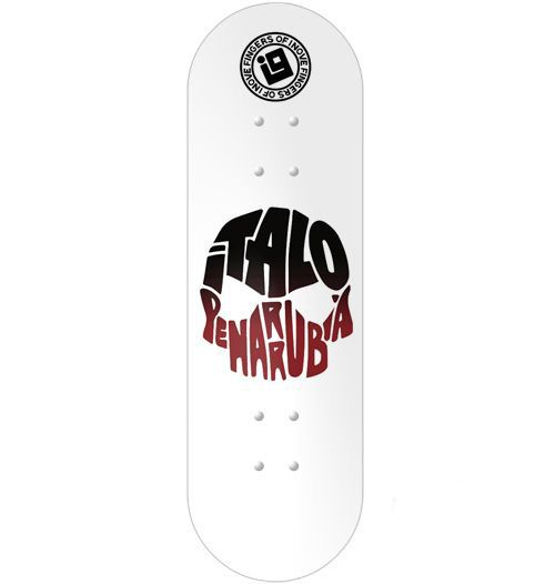 Deck Inove - Italo Penarrubia White Skulls Version 2 - 34mm