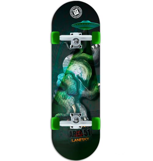 Fingerboard Completo Inove Premium - Collab Lanesky The Elephant