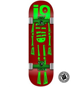 Fingerboard Completo Inove - Skeleton Wine
