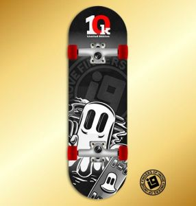 Fingerboard Completo Inove - Smoke Phantom - 10K Limited Edition