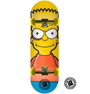 Fingerboard Completo Inove Premium - Bart Simpsons
