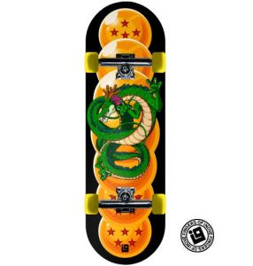 Fingerboard Completo Inove Premium - Dragon Ball Shenlong e Esferas do Dragão