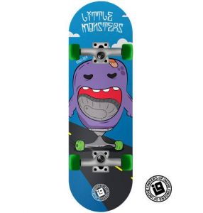 Fingerboard Completo Inove - Collab Mateus Freitas Little Monsters Bowlzer