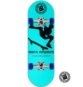 Fingerboard Completo Inove - Collab Rafa Amorim Light Blue